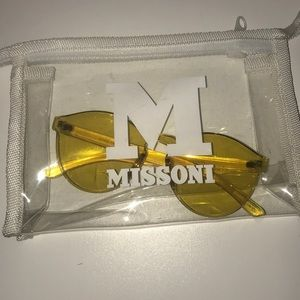 YELLOW MISSONI SUNGLASSES